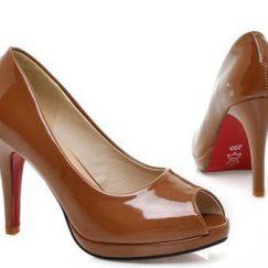 petite open toe pumps size 2