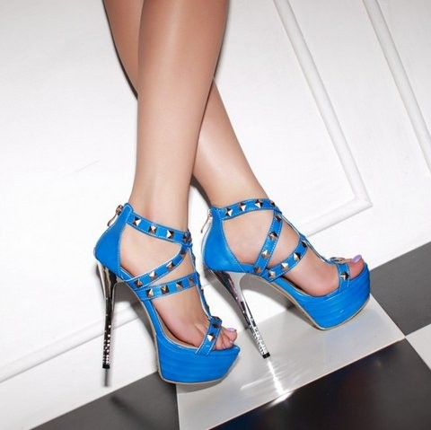 size 4 petite pumps studded gladiator heels