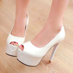petite open toe heels size 2