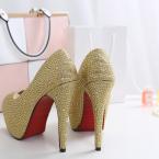goldwedding pumps petite