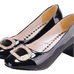 black petite heels shoes for small feet
