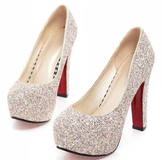 prom size 4 heels