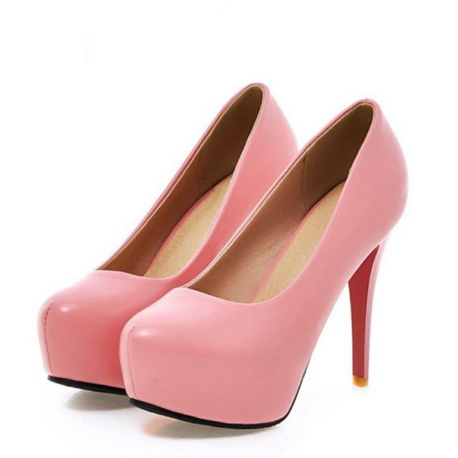 pink top rated shoes heels size 3 euro 32