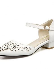 size 2, 3, 4, petite flats cut-out style heel