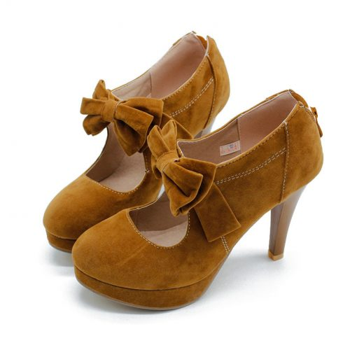 yellow petite ankel boots
