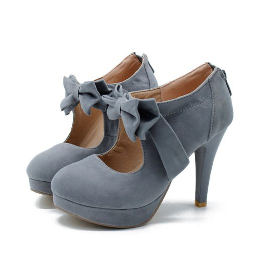 gray petite ankle boots