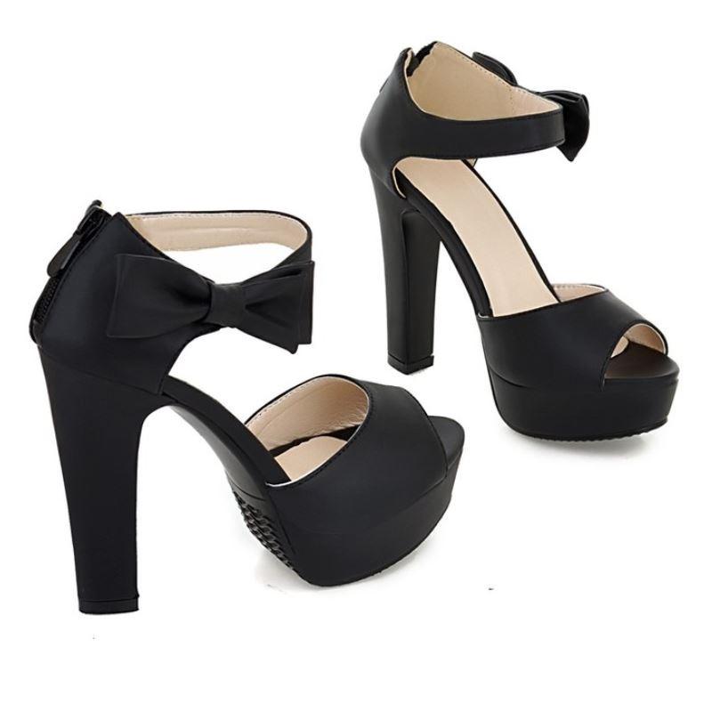 black high heels size 1 size 2 size 3 size 4 size 5 size 6 size 7