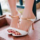 boho cinderella of boston petite heels white size 2