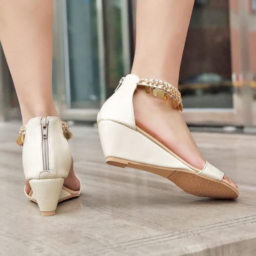 wedges size 1 size 14 wedges white