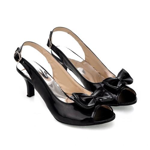 black petite pumps slingback kitten