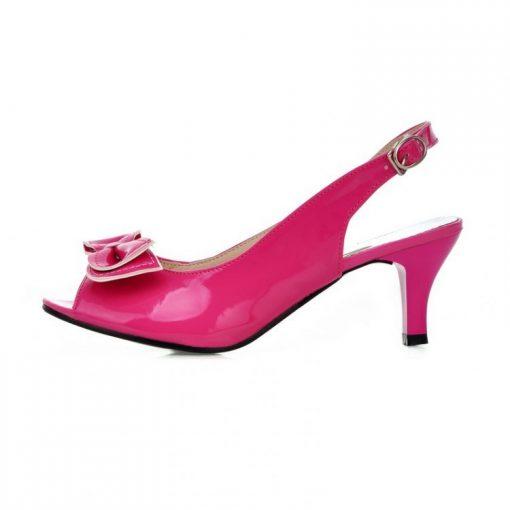 hot pink petite cinderella pumps
