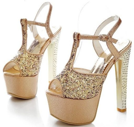 T-strap petite shoes